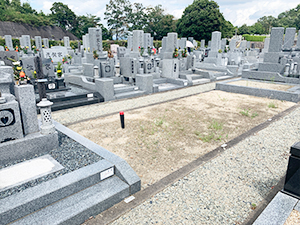 令和2年川西市公営墓地 募集の様子